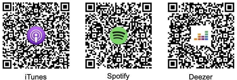 QR Code für iTunes, Spotify und Deezer